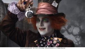 """""""ALICE IN WONDERLAND"""" Film Frame Johnny Depp ©Disney Enterprises, Inc. All Rights Reserved."""