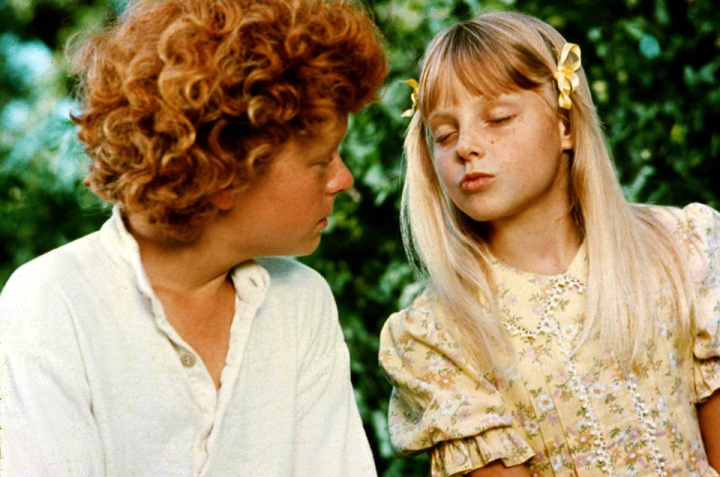 Jodie Foster & Johnny Whitaker dans Tom Sawyer (1973)