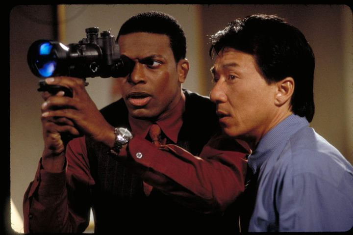 Chris Tucker et Jackie Chan dans Rush Hour 2