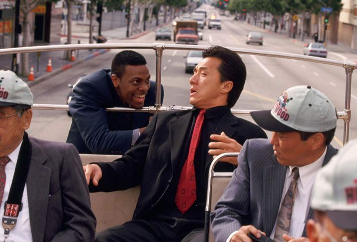 Chris Tucker et Jackie Chan dans Rush Hour