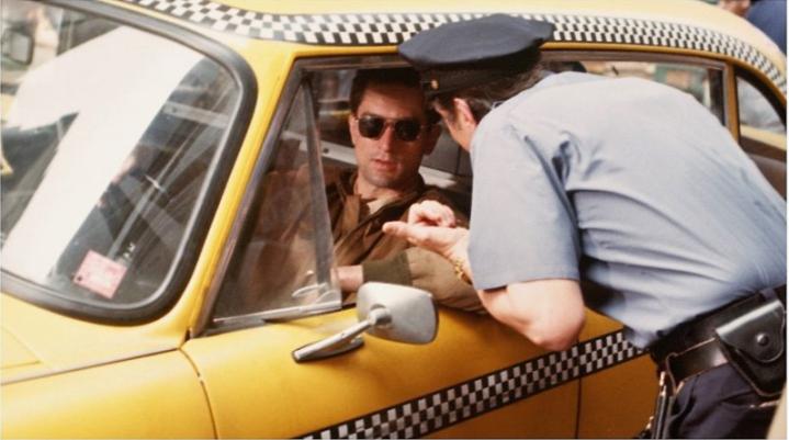 Robert de Niro dans le film Taxi Driver