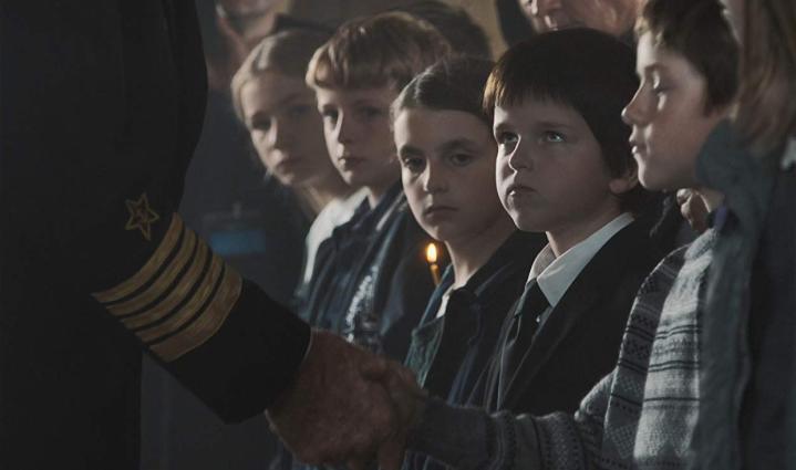 Artemiy Spiridonov dans le film Kursk