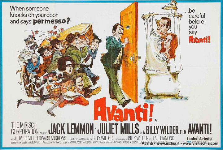 Affiche du film Avanti! de Billy Wilder