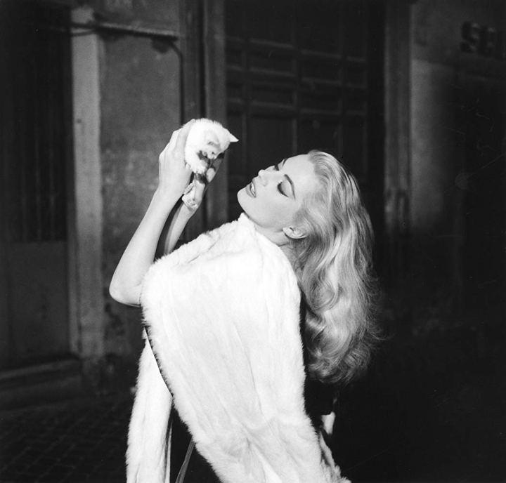 Anita Ekberg dans La Dolce Vita