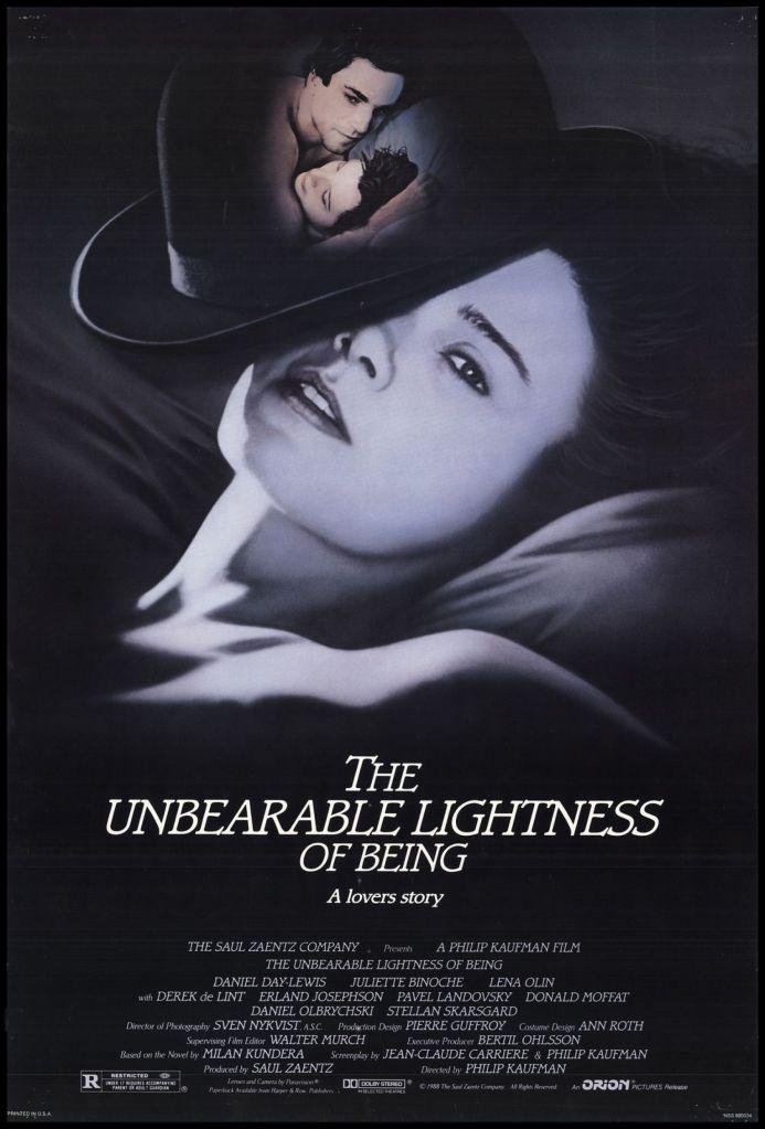 Affiche du film L'insoutenable légèreté de l'être